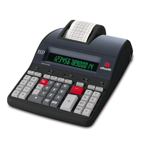calcolatrice scrivente professionale olivetti logos 914t