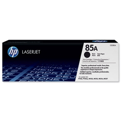Hewlett Packard (HP) No. 85A Laser Toner Cartridge Page Life 1600pp  Black Ref CE285A
