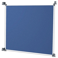 Nobo Modular Display System Panel Large with Brackets W1228xD885xH12mm Blue Grey Ref 1902218