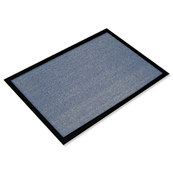 Indoor Entrance Mat Hard Wearing 600x800mm Blue