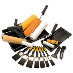 Draper Painting Kit Room-decorating Brushes Rollers Paint Trays Ref 2615