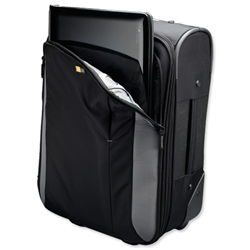 Case Logic Travel Case Overnight with Detachable 16in Laptop Sleeve Black and Grey Ref VTU218 - Item image
