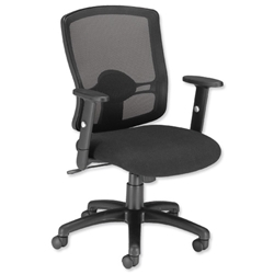 Influx Task Mesh Back Office Chair - Euroffice