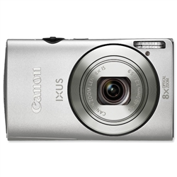 Canon IXUS 230 HS Digital Camera Silver DIGIC4 SDHC SDXC 3in LCD 8x Optical Zoom 12.1MP Ref IXUS2 - Item image
