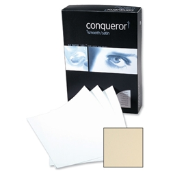 Conqueror Prestige Paper Ultra Smooth Finish Box 100gsm A4 Cream Ref CQX0324CRNW [500 Sheets]