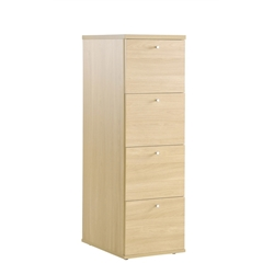 Eco 4 Drawer Filing Cabinet Oak