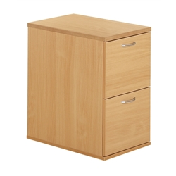 Urban 2 Drawer Filing Cabinet Beech