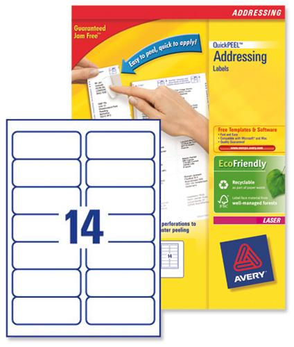 template for labels 14 per sheet - avery l7163 laser printer labels ref l7163 40