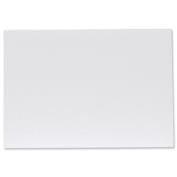 Display Board Lightweight Durable CFC Free W297xD5xH420mm A3 White [Pack 10]