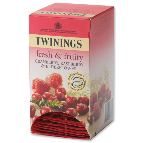 Twinings individually wrapped tea bags