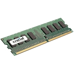 Crucial DESKTOP 1GB DDR2 667MHz (PC2-5300) CL5 Unbuffered UDIMM 240pin - Item image